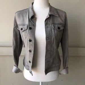 H&M Gray Jean Jacket